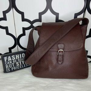 Pelle Studio Brown Leather Shoulder Bag
